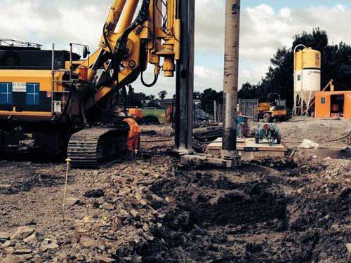 Downpatrick pipeline stabilisation
