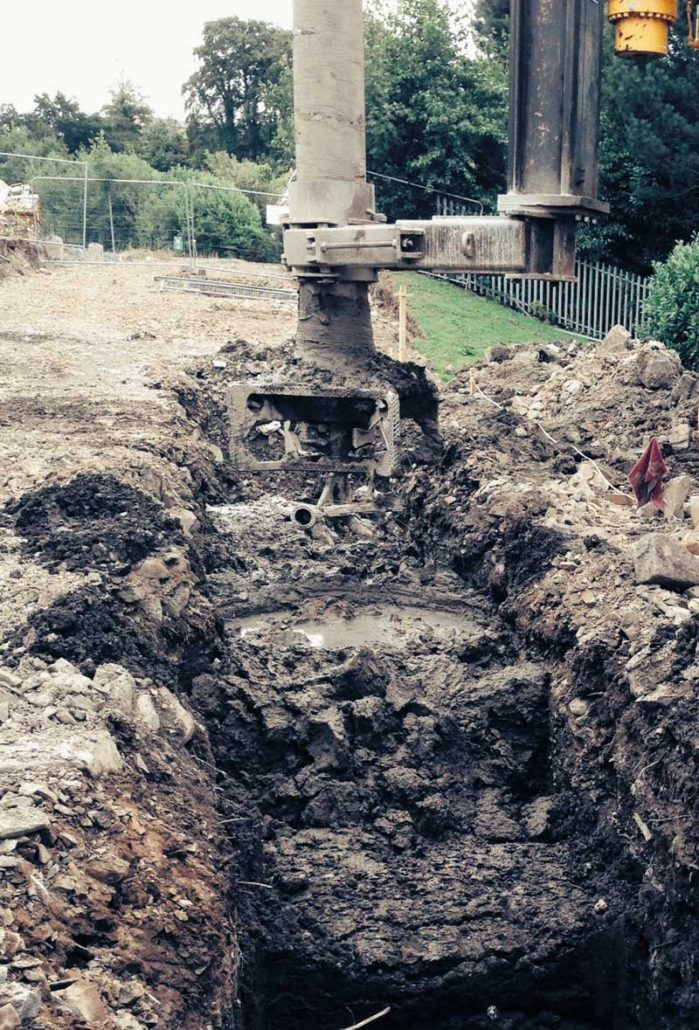 Downpatrick soil stabilisation