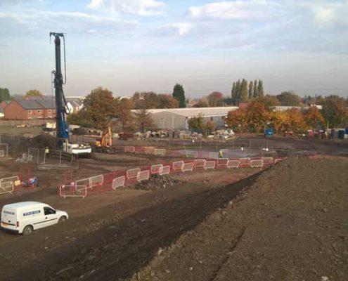 Deep Soil Mixing at Harrowby Road