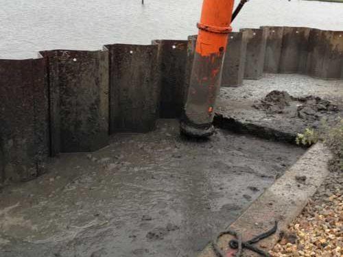 Poole Quay deep soil mixing