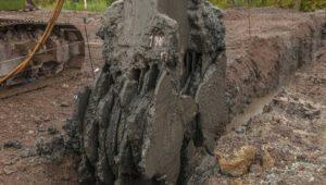 cutter soil mixer soil stabilisation