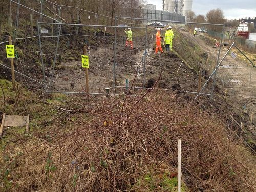 depp soil mixing canal embankment stabilisation