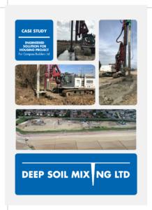 St Mary's Bay housing soil stabilisation
